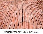Pile Of Orange Bricks Ready To...