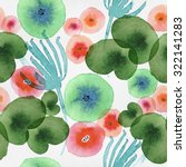 beautiful seamless pattern with ... | Shutterstock . vector #322141283