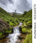 waterfall in fairbrook clough...