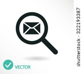 mail icon. one of set web icons