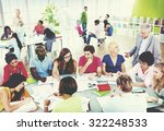 group of student in the... | Shutterstock . vector #322248533
