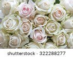 White And Pastel Vintage Roses...