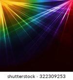Colorful Spotlight Background....