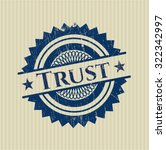 trust grunge stamp   Shutterstock .eps vector #322342997