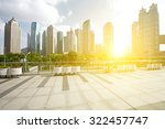office building as the... | Shutterstock . vector #322457747