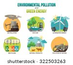 environmental pollution and... | Shutterstock .eps vector #322503263