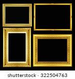 gold vintage picture and photo... | Shutterstock . vector #322504763