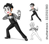 High Quality Mime Artist...
