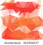 red and white polygonal mosaic...