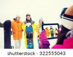 winter sport  technology ... | Shutterstock . vector #322555043