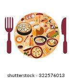 vector background with... | Shutterstock .eps vector #322576013