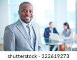 thumb up gesture shown by group ... | Shutterstock . vector #322619273