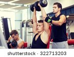 sport  fitness  lifestyle ... | Shutterstock . vector #322713203