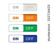website button set flat design | Shutterstock .eps vector #322716623