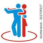 dance icon | Shutterstock .eps vector #322729217