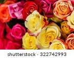 nice roses | Shutterstock . vector #322742993
