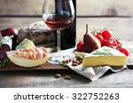 still life with various types... | Shutterstock . vector #322752263