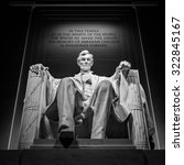 Small photo of Abraham Lincoln monument in Washington, DC