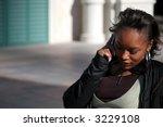 beautiful african american... | Shutterstock . vector #3229108