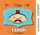 family and home design  vector... | Shutterstock .eps vector #322916837