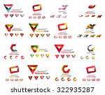 set of various geometric icons  ... | Shutterstock .eps vector #322935287