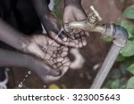 water scarcity is still... | Shutterstock . vector #323005643