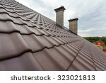 New Roof With Natural Red Tile...