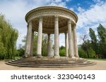 temple of love in english... | Shutterstock . vector #323040143