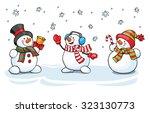 vector card concept ... | Shutterstock .eps vector #323130773