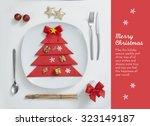 christmas card | Shutterstock . vector #323149187