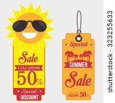 summer sale deals design ...   Shutterstock .eps vector #323255633