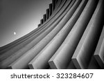 black and white image of... | Shutterstock . vector #323284607