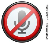 no recording | Shutterstock .eps vector #323364353