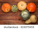 A Variety Of Winter Squash...