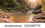 beautiful view of guam gorge. | Shutterstock . vector #323385773
