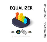 equalizer icon  vector symbol...