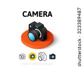 camera icon  vector symbol in...