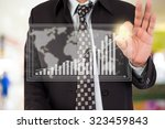 business man in shopping mall. | Shutterstock . vector #323459843