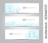 vector design banner technology ...   Shutterstock .eps vector #323460737