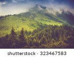 Mountain Landscape And Forests...