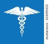 medicine symbol | Shutterstock .eps vector #323490323