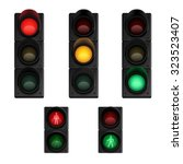 Traffic Stop Lights Signals Fo...