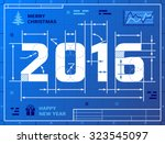 Card Of New Year 2016 As...
