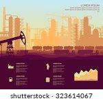 oil plant | Shutterstock .eps vector #323614067