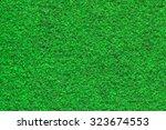 surface green carpet | Shutterstock . vector #323674553