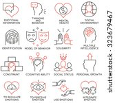 vector set of 16 icons related... | Shutterstock .eps vector #323679467