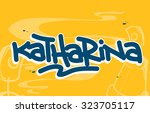 names | Shutterstock .eps vector #323705117