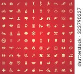 health 100 icons universal set... | Shutterstock . vector #323790227