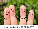 Finger Art Of Friends. The...