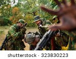 Russian Soldiers  Squad With...